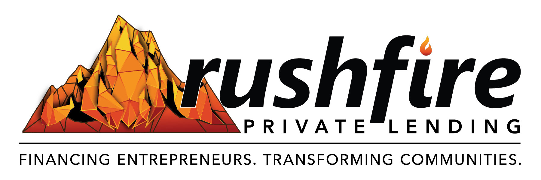 RushFire Private Lending logo_wide format