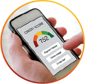 checking credit score on mobile