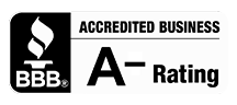 Better Business Logo and rating for RushFire.io